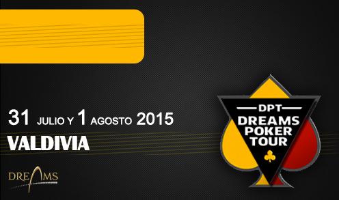 dreams poker tour valdivia julio 2015 noticia