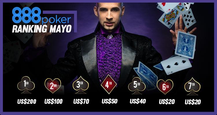 888 poker mayo