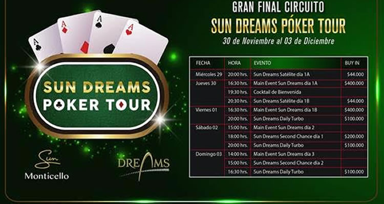 Sun Dreams Poker Tour