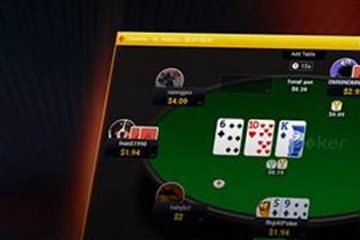 new partypoker table