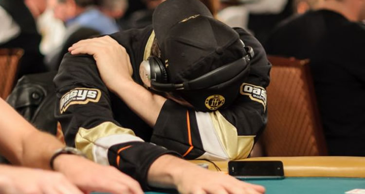 perder en el poker