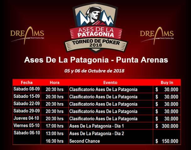 calendario torneo ases de la patagonia