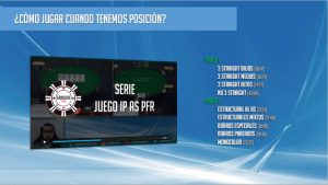 Serie juego IP As PFR