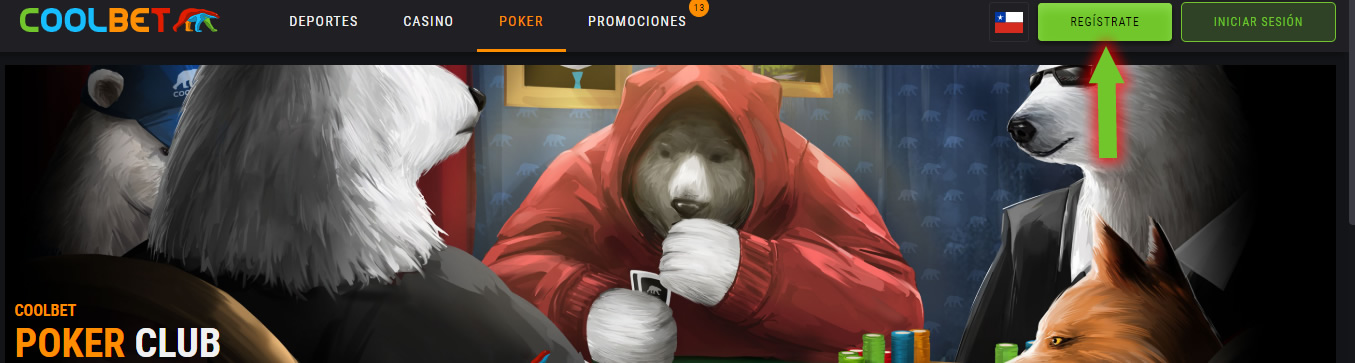 registrate en coolbet