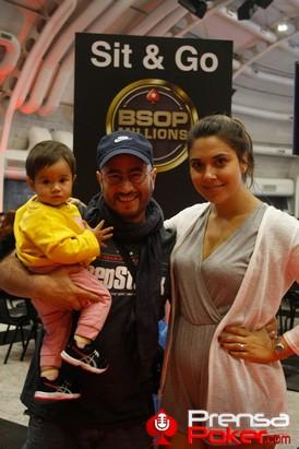 Fernando Gomez Rovira y familia